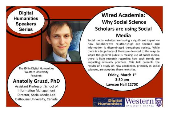 Anatoliy Gruzd on Scholarship and Social Media